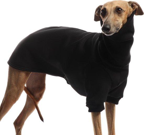 DG Outdoor Honden Sweatshirt/Trui van katoen - Zwart - Maat 10 (DGM) 5-15kg