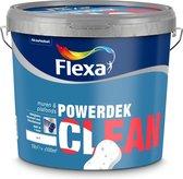 Flexa Powerdek Muren & Plafonds Clean Reinigbare Muurverf - Wit - 10 L