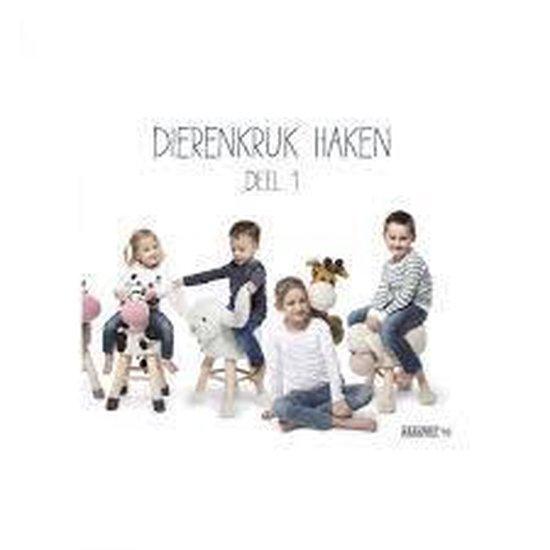 Boek cover Dierenkruk Haken Deel 1 - Anja Toonen van Anja Toonen (Hardcover)