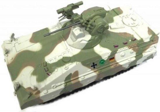 Mapaep-1A5 Leger Tank Die Cast 1/72 - Leger - Army - Modelauto - Schaalmodel - Leger model