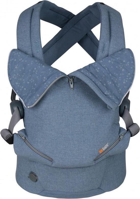 Be Safe Baby Draagzak Haven Cloud Premium _ geschikt vanaf geboorte - ergonomische draagzak