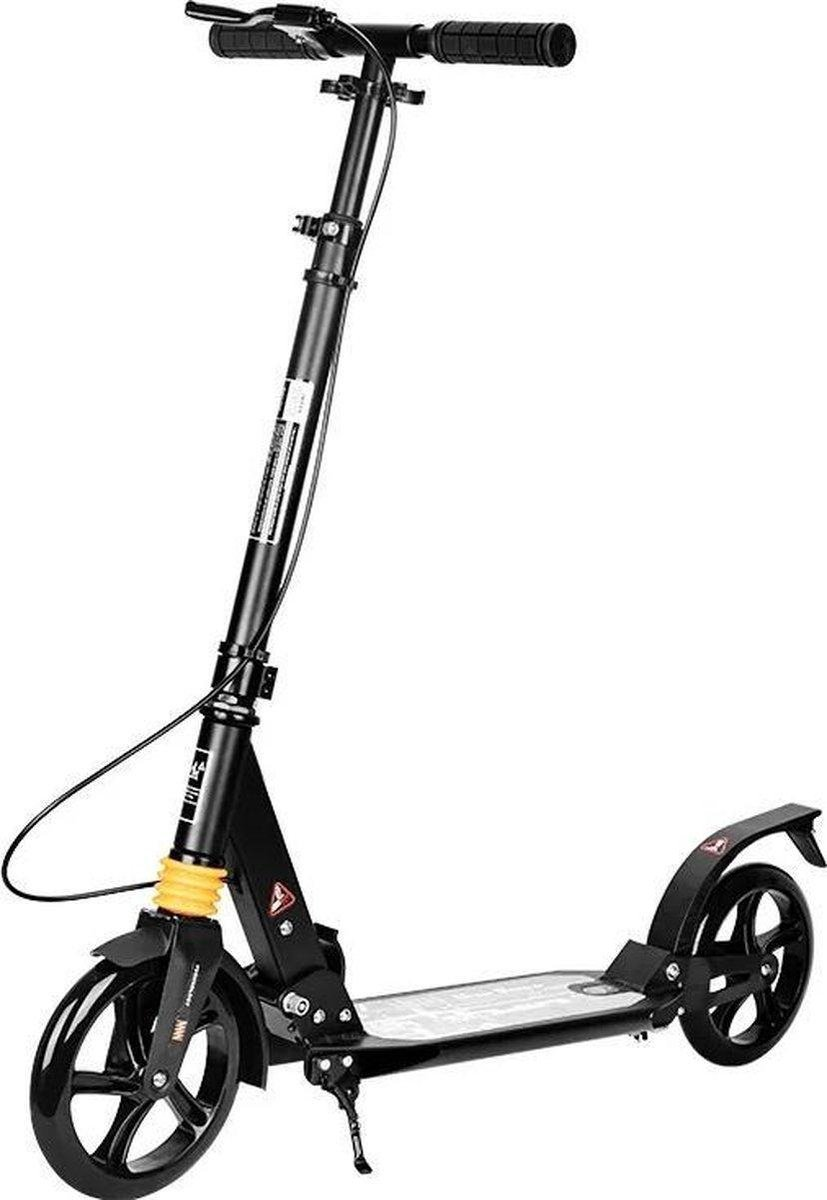 R9 Volwassenen Opvouwbaar Step - Step(Niet elektrisch) - Vering - Zwart - 100kg