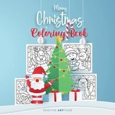 Merry Christmas Coloring Book: Fun Children's Christmas Gift or Present for Boys and Girls, Toddlers and Kids