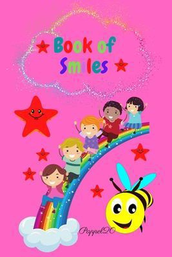 Book Of Smiles - A daily Gratitude Journal for kids- 154 pages -6x9 Inches