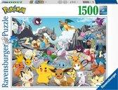 Ravensburger puzzel Pokémon Classics - Legpuzzel - 1500 stukjes - Multicolor