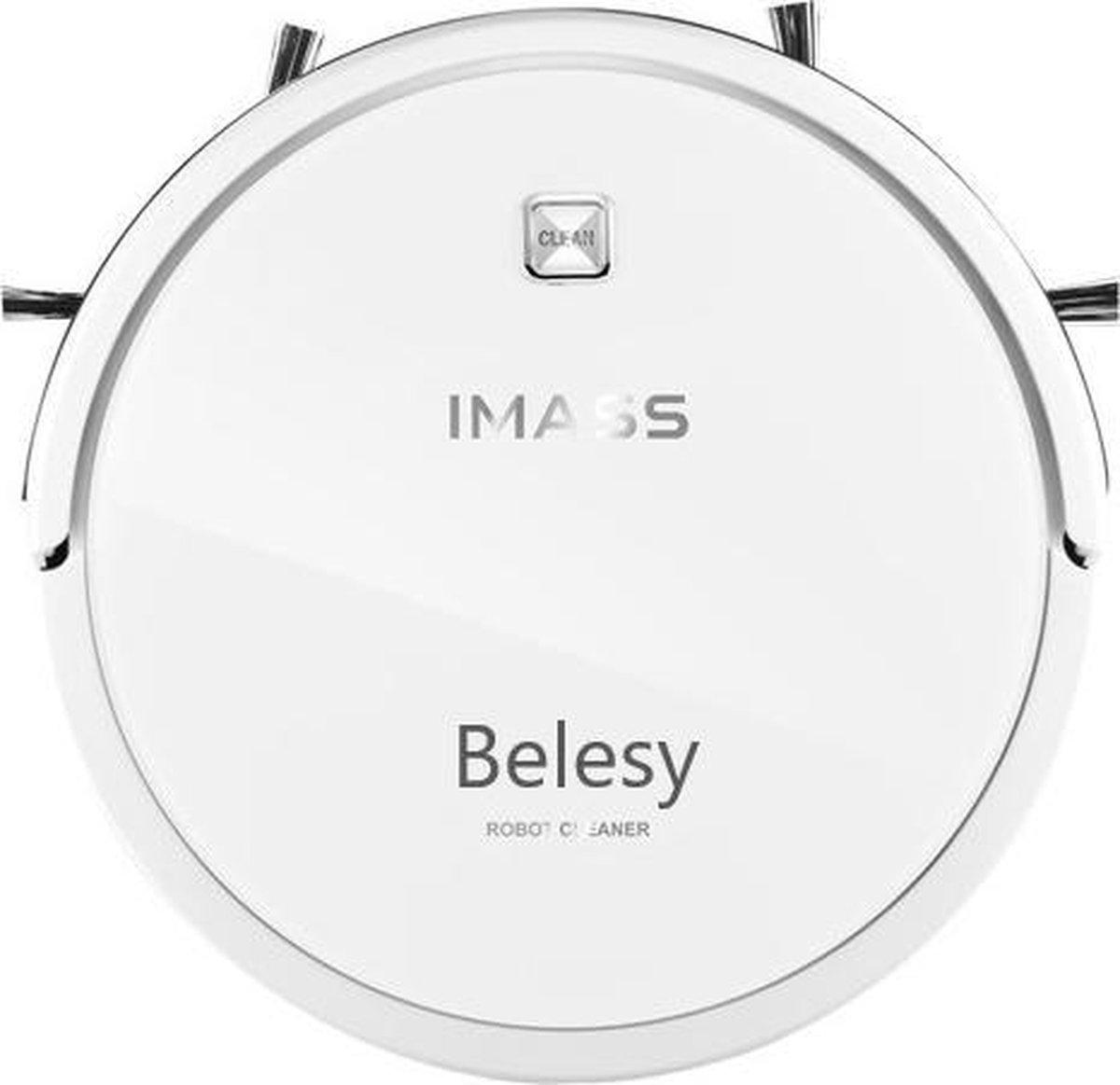 Belesy® IMass Alles-in-1 - Robotstofzuiger met dweilfunctie