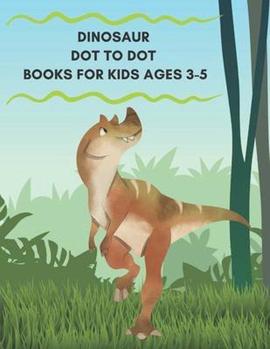 Dinosaur Dot to Dot Books For Kids Ages 3-5