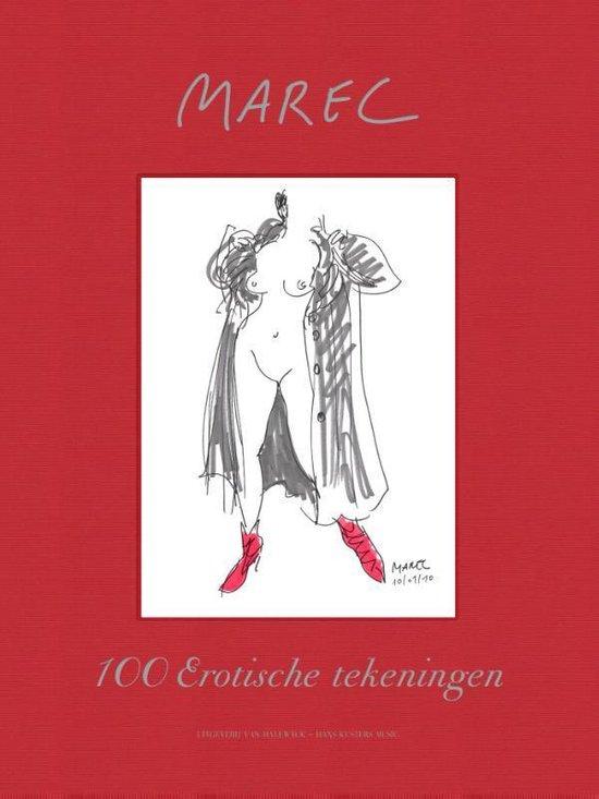 Cover van het boek '100 Erotische tekeningen' van  Marec