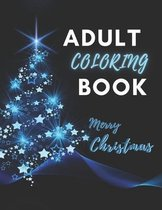 Adult Coloring Book Merry Christmas