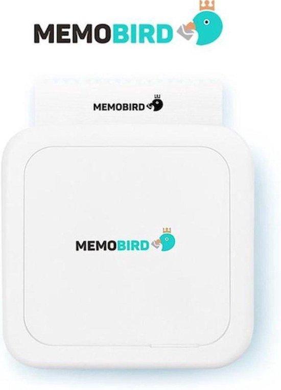 Memobird® Mobiele Portable Pocket Printer 2.0 – Bluetooth - Draag & Meeneembaar - Wit