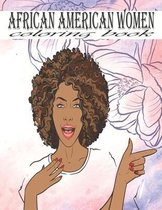 African American Women Coloring Book