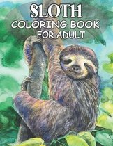 Sloth Coloring Book For Adult