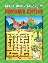 maze book for kids dinosaur edition