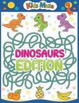 kids maze dinosaurs edition
