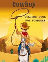 Cowboy Coloring Book For Toddlers