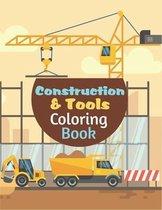 Construction Tools Coloring Book