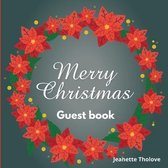 Merry Christmas guest book
