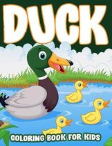 Duck Coloring Book for Kids
