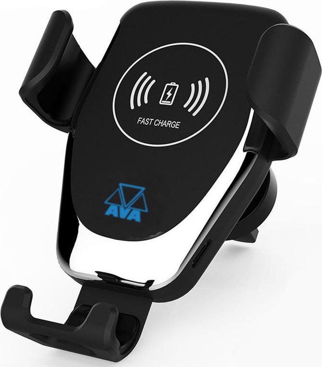 AVA Draadloze Telefoonhouder Auto - Draadloze Oplader QI - Universeel - Telefoonhouder Iphone / Sams