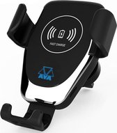 AVA Draadloze Telefoonhouder Auto - Draadloze Oplader QI - Universeel - Telefoonhouder Iphone / Samsung / Huawai - 10W / 7.5W / 5W