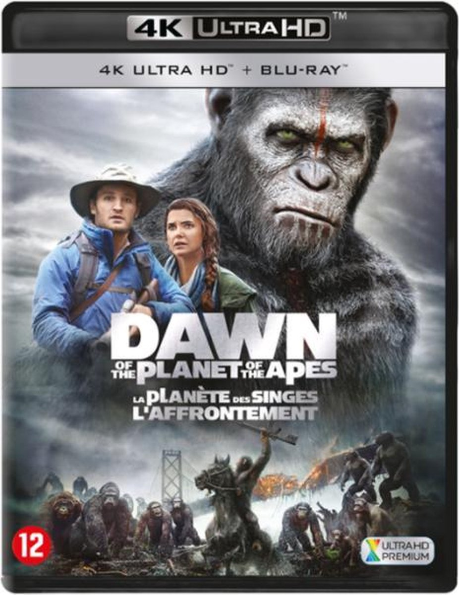 Dawn of the Planet of the Apes (4K Ultra HD Blu-ray)-