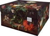 Dutch Design Brand - Dutch Design Storage Box - Bloemen - Stillleven - 17e eeuw - Flowers