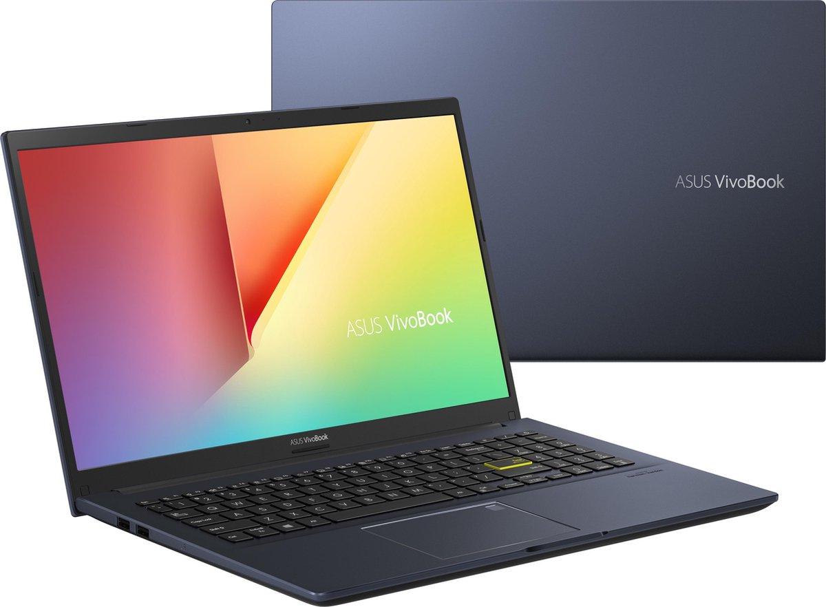 "ASUS VivoBook 15 S513EA-BN781T DDR4-SDRAM Notebook 39,6 cm (15.6"") 1920 x 1080 Pixels Intel® 11de generatie Core™ i7 8 GB 512 GB SSD Wi-Fi 6 (802.11ax) Windows 10 Home Zwart"