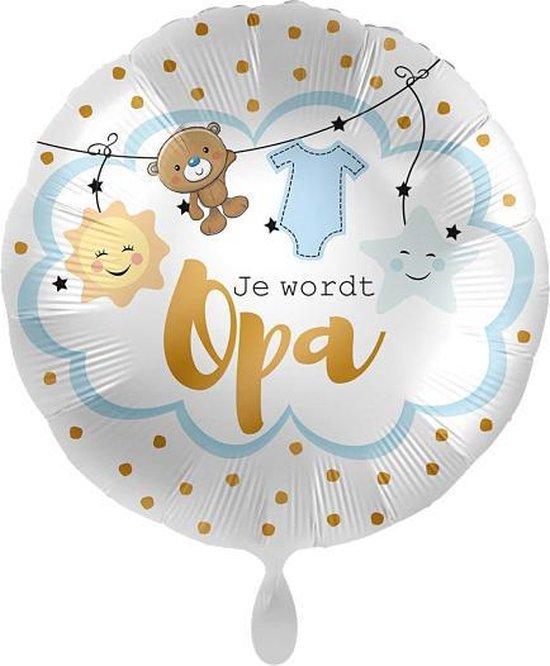 Everloon - Folieballon - Je Wordt Opa - 43cm