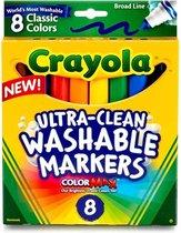 Crayola Filzstifte, auswaschbar 8 Stck.