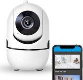 Babyfoon - Beveiligingscamera - Babyfoon met camera - WiFi - Beveiligd - HD Quality + Gratis Telefoonhouder