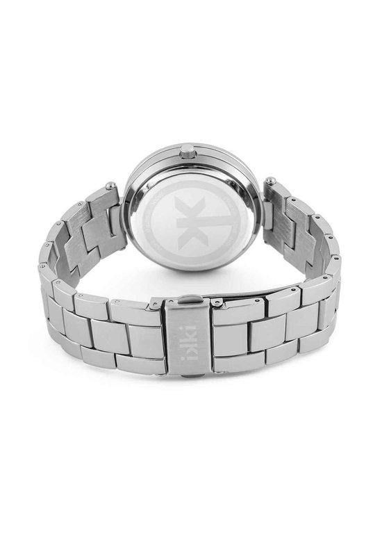 IKKI PAIGE PG04 Horloge - Zilver/Zwart