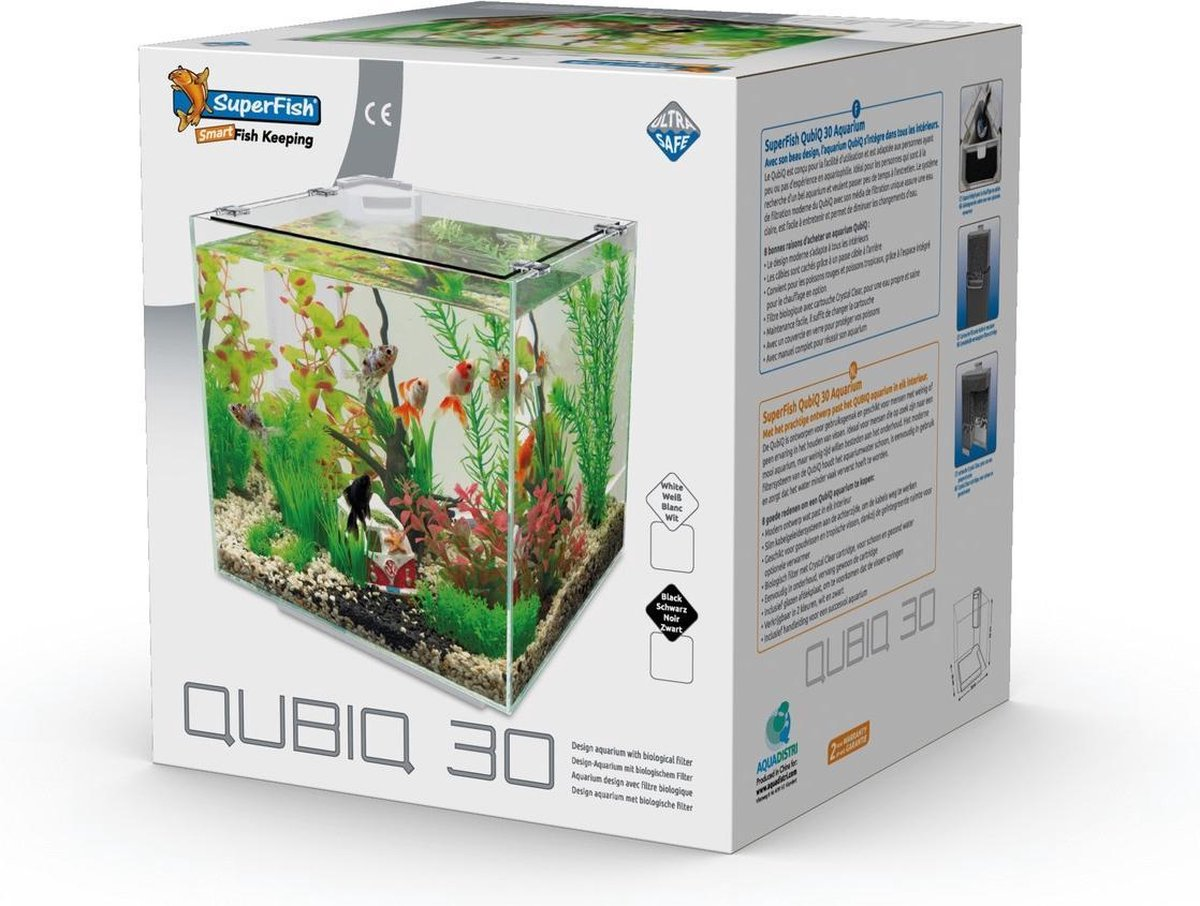 Superfish Aquarium Qubiq 30 - Aquaria -