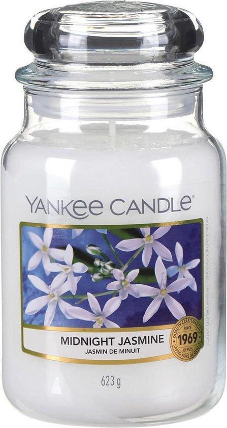 Yankee Candle Large Jar Geurkaars – Midnight Jasmine