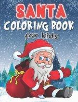 Santa Coloring Book For Kids