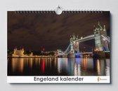 Cadeautip!   Engeland verjaardagskalender 35x24 cm   Wandkalender   Kalender
