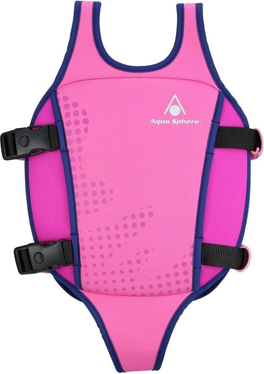 Aqua Sphere Swim Vest - Zwemvest - Kinderen - Roze/Paars - 2-3Y (15-18kg)