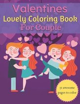 Valentines Lovely Coloring Book For Couple