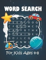 Word Search for Kids Ages 4-8