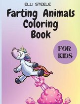 Farting Animals Coloring Book for Kids