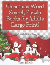 Christmas Word Search Puzzle Books for Adults (Large Print)