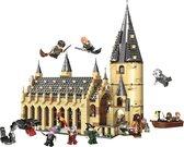 Brickzz | Zweinstein - Harry Potter De Grote Zaal van Zweinstein - Harry Potter Kasteel - Hagrid - Perkamentus - Geschikt voor LEGO Harry Potter - Compatibel met LEGO - 938 Bouwstenen