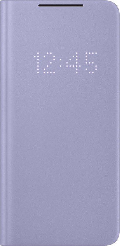 Samsung Smart LED View Antibacteriële Hoesje  - Samsung S21 Plus - Violet
