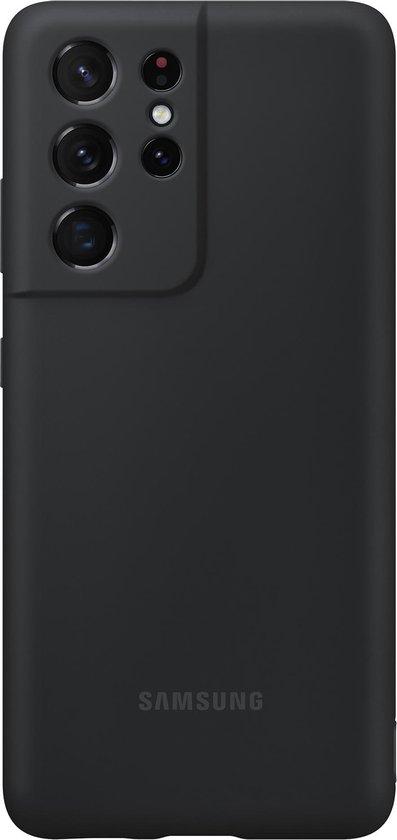 Samsung Silicone Hoesje met S Pen - Samsung S21 Ultra - Zwart