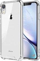 iphone xr hoesje - Apple iPhone xr hoesje shock proof case - hoesje iphone xr transparant apple - iPhone xr hoesjes cover hoes
