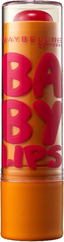 Maybelline Babylips - Cherry Me - Rood - lipbalm