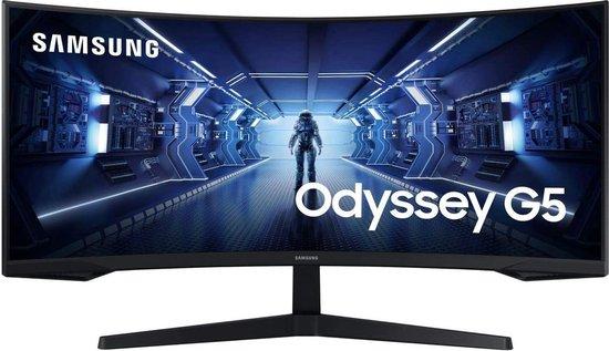 Samsung G5 C34G55TWWU - Ultrawide Gaming Monitor - 165hz - 34 inch