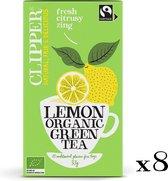 Clipper Organic Green Tea Lemon - 8 x 20 zakjes