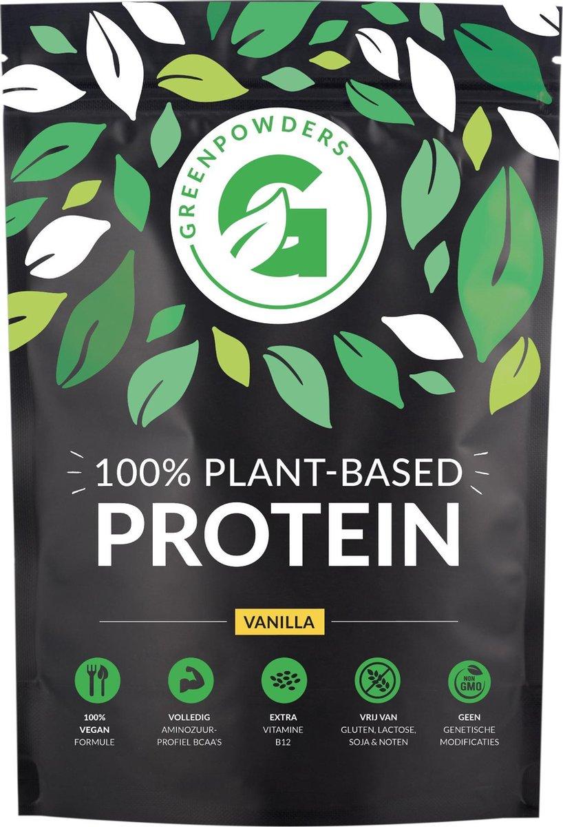 Vegan Protein - Plantaardige Eiwitshake / Prote ne poeder / Eiwit poeder met Vitamine B12 - Vanille