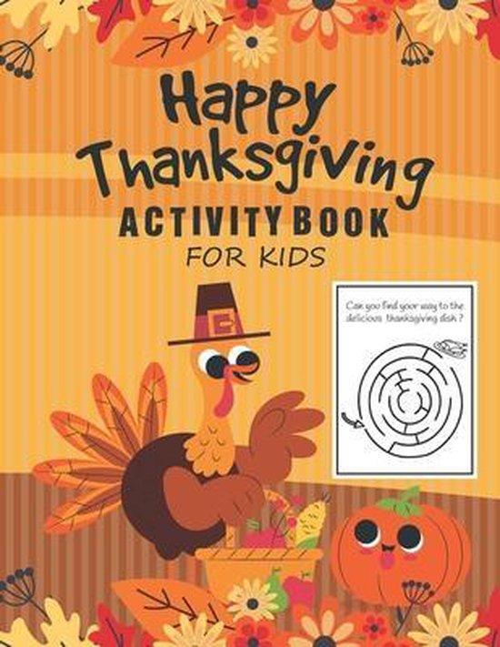 Happy Thanksgiving Activity book