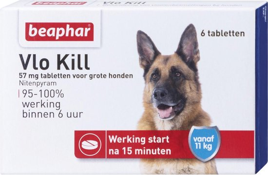 Beaphar - Vlo kill - Vanaf 11 kg - 1 st